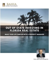 Out of state investing in Tampa